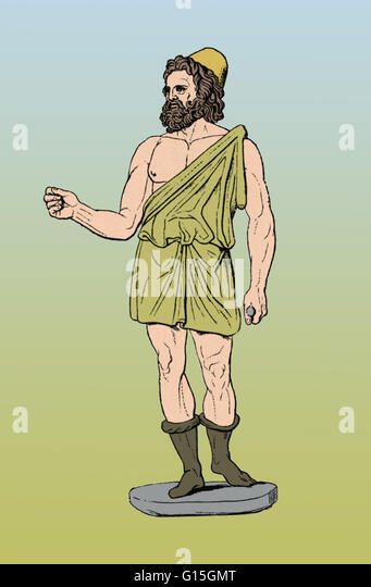Hephaestus Was The God Of Fire Stock Photos & Hephaestus ... Vulcan Roman God