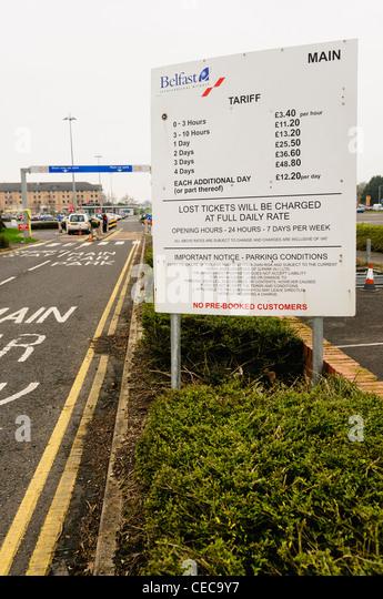 Belfast City Airport Car Park Prices