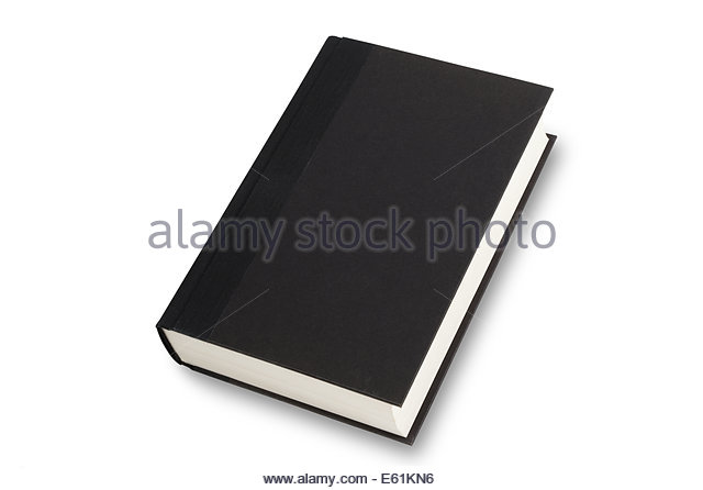 Black Book Cover Images : Black book cover isolated on stock photos