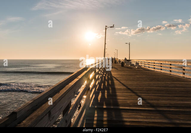 Virginia reel stock photos virginia reel stock images for Va beach fishing pier
