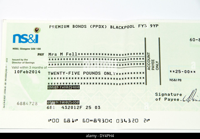 Ernie bonds stock photos ernie bonds stock images alamy - Premium bonds post office ...