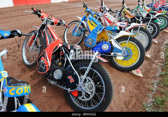Speedway Motorcycle Racing Bikes: Speedway Rider Stock Photos & Speedway Rider Stock Images