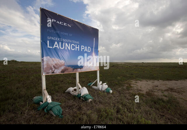 Brownsville, Tx Usa 23sep14: Spacex Is Planning Its First ...