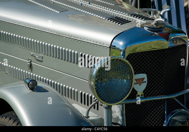 Hood ornament vintage automobile stock photos hood for Andalusia ford motor company