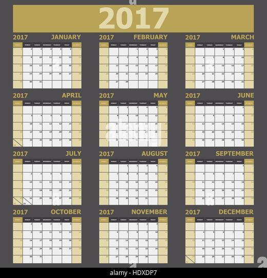 Month Vector Vectors Stock Photos & Month Vector Vectors Stock Images ...