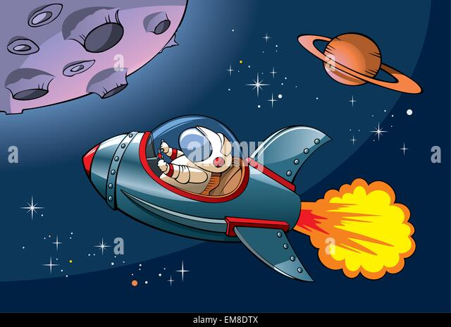 Cartoon Spaceship Stock Photos & Cartoon Spaceship Stock