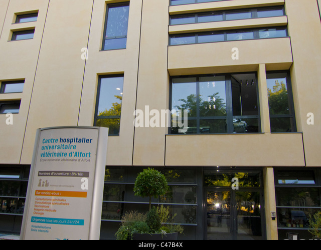 Animal hospital paris stock photos animal hospital paris for Adresse ecole veterinaire maison alfort