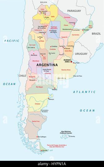 Map Argentina Stock Photos Map Argentina Stock Images Alamy