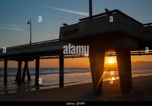 Pier pilings stock photos pier pilings stock images alamy for Deep sea fishing marina del rey