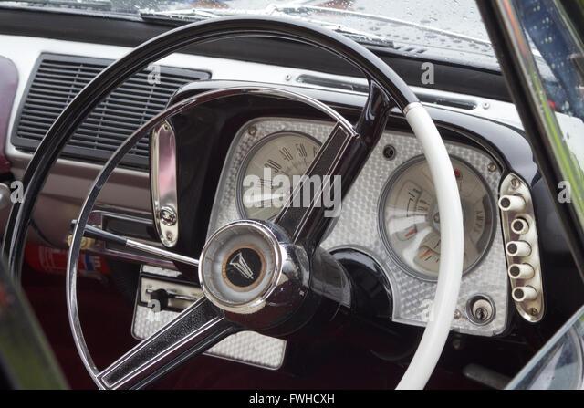 classic car interior stock photos classic car interior stock images alamy. Black Bedroom Furniture Sets. Home Design Ideas