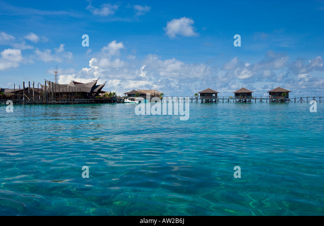 Bungalows sipadan kapalai dive resort sabah borneo - Sipadan kapalai dive resort ...