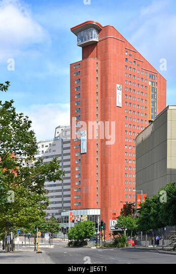 Student Accommodation by Unite Group Plc purpose built flats Stratford One in London Olympic Park  next to Stratford - Stock Image