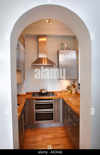 Smeg fridge stock photos smeg fridge stock images alamy for Small fitted kitchens