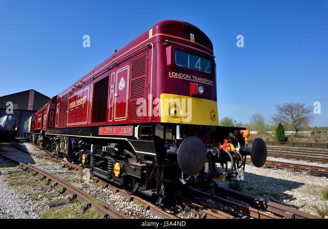 Class 20 Diesel Locomotive Stock Photos & Class 20 Diesel ...