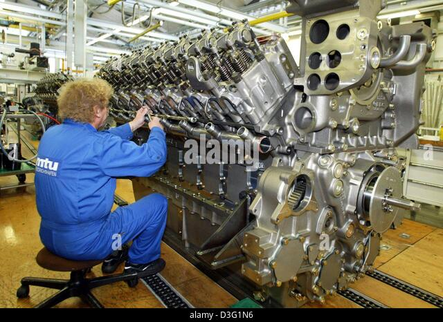 Mtu_aero_engines Aircraft Engines Turbine Germany Stock Photos ...