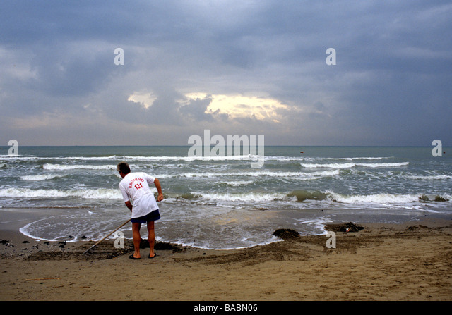 Miramare beach province rimini italy stock photos for Miramare beach