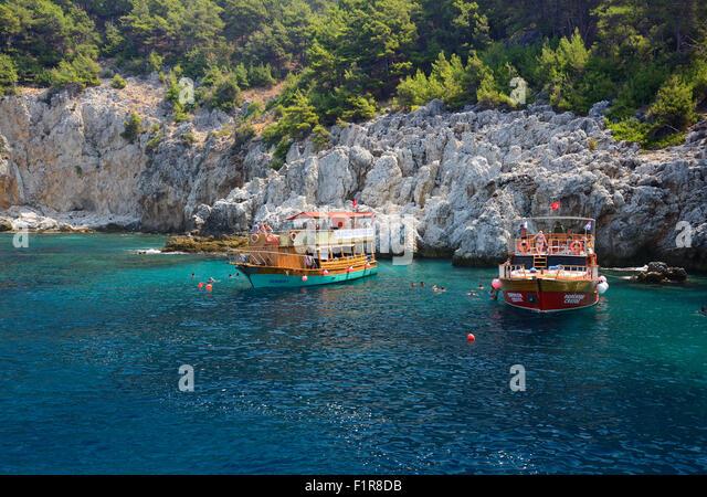 Coast Near Alanya Turkey Stock Photos & Coast Near Alanya ...