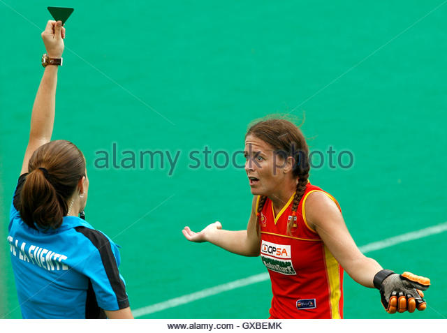 Field hockey umpire stock photos field hockey umpire - Silvia munoz ...