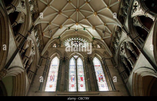 Rose window stock photos rose window stock images alamy for Rose window york minster