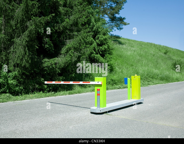Road closed stock photos images alamy