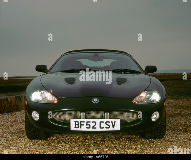 Price Of Jaguar Convertible: Jaguar Xkr Convertible Stock Photos & Jaguar Xkr