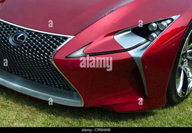 LEXUS Showcasing Their LF Lc Concept Car During The Concorso Du0027Eleganza  Villa D