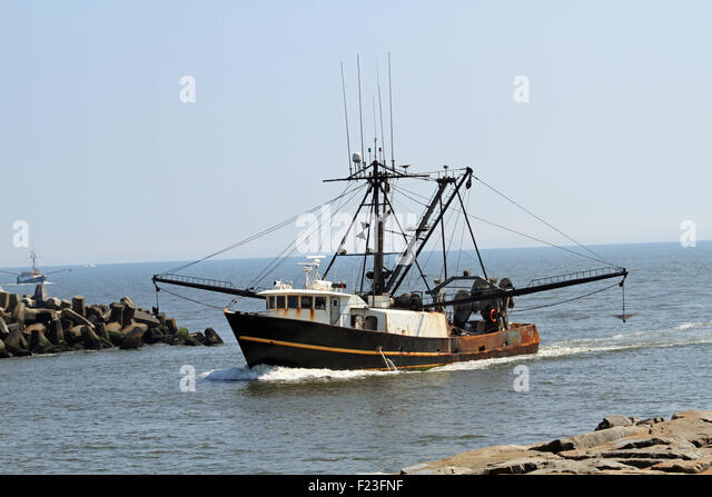 Commercial fishing boats atlantic stock photos for Point pleasant fishing boats