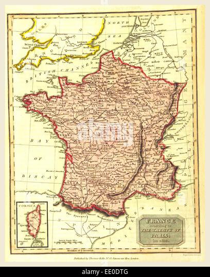 The Treaty Of Paris Stock Photos The Treaty Of Paris Stock - Treaty of paris map