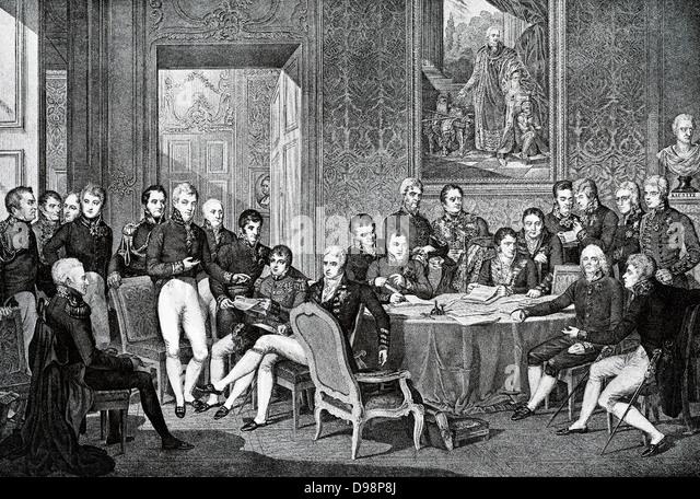settlement of 1815 Study guide for napoleon & the  settlement were determined by an international congress the statesmen who met in this congress of vienna in 1814-1815.
