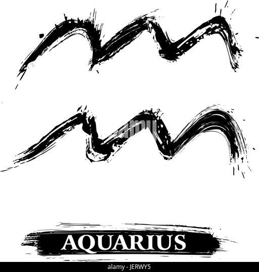 Horoscope Symbols Black And White Stock Photos Images Alamy