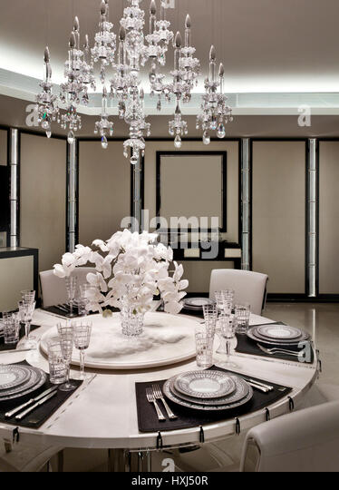 Dining Room Crystal Chandelier Stock Photos Amp Dining Room