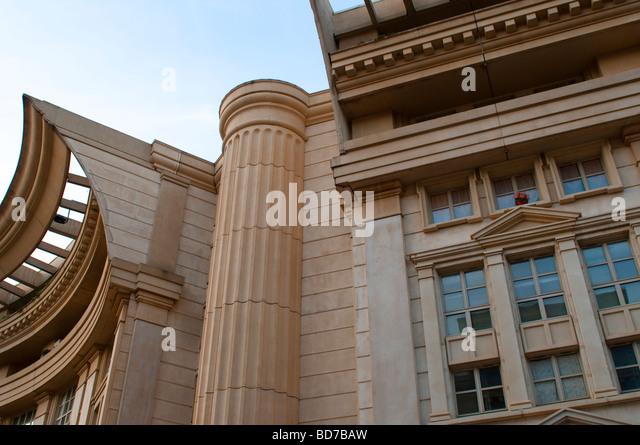 postmodern architecture modern detail stock photos & postmodern