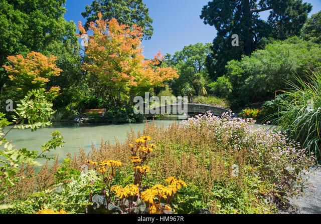Christchurch botanic gardens stock photos christchurch for Landscape gardeners christchurch