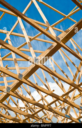 Prefabricated Roof Stock Photos Prefabricated Roof Stock