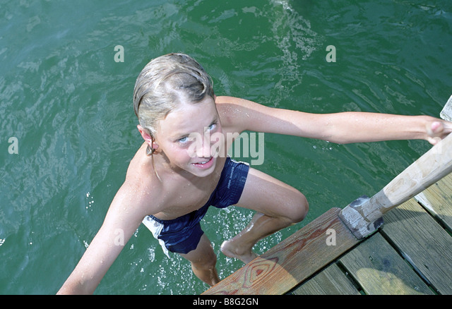Swimming Ladder Stock Photos Swimming Ladder Stock Images Alamy