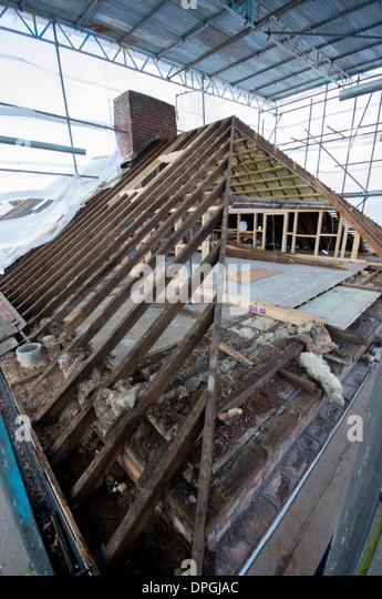 Loft Conversion House Uk Stock Photos Amp Loft Conversion