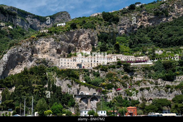 Amalfi town stock photos amalfi town stock images alamy for Convento di amalfi