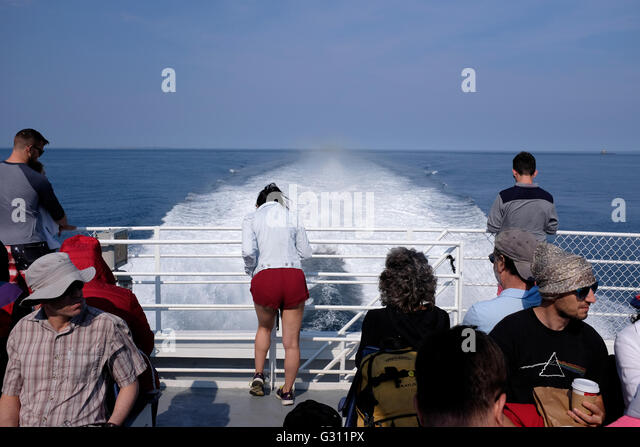 Block island ferry stock photos block island ferry stock images passengers on the way to block island from new london connecticut on the ferry sciox Gallery