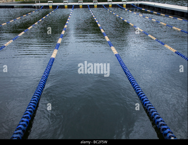 Swimming Lane Markers Stock Photos Amp Swimming Lane Markers