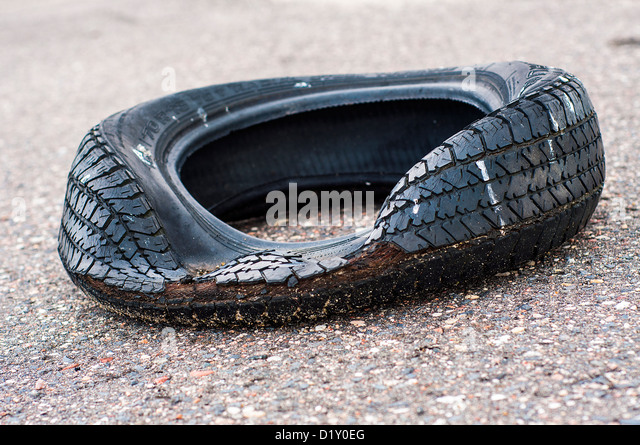 Old tire stock photos old tire stock images alamy for Old tyre uses