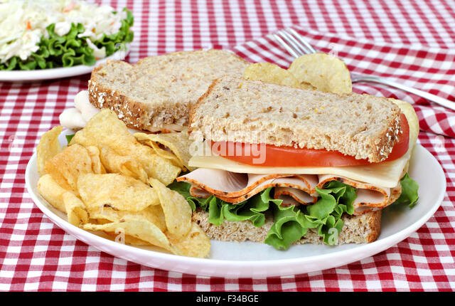 Turkey Sandwich Chips Stock Photos & Turkey Sandwich Chips Stock ...
