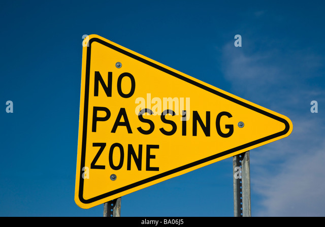 no passing zone sign stock photos & no passing zone sign stock
