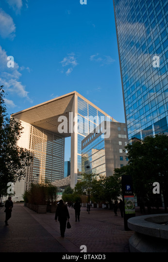 French Architect glass tower facade french architect stock photos & glass tower