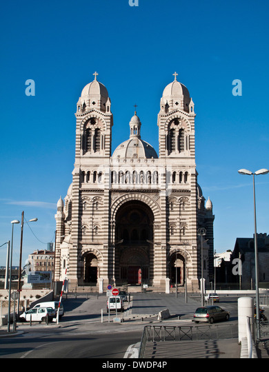 marseille cathedral stock photos marseille cathedral stock images alamy. Black Bedroom Furniture Sets. Home Design Ideas