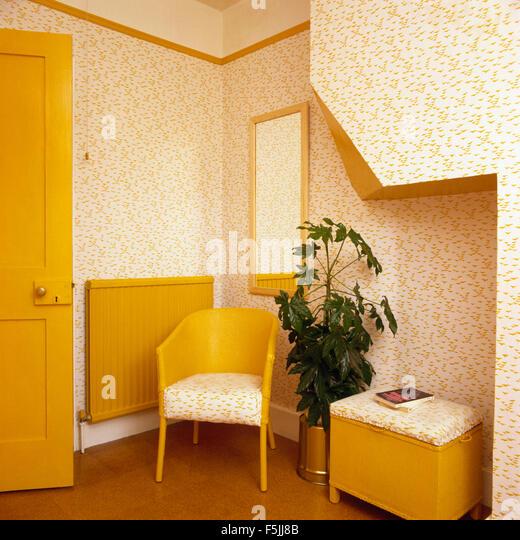 Lloyd Loom Stock Photos amp Lloyd Loom Stock Images Alamy : yellow painted lloyd loom chair and laundry basket in eighties bathroom f5jj8b from alamy.com size 520 x 540 jpeg 129kB