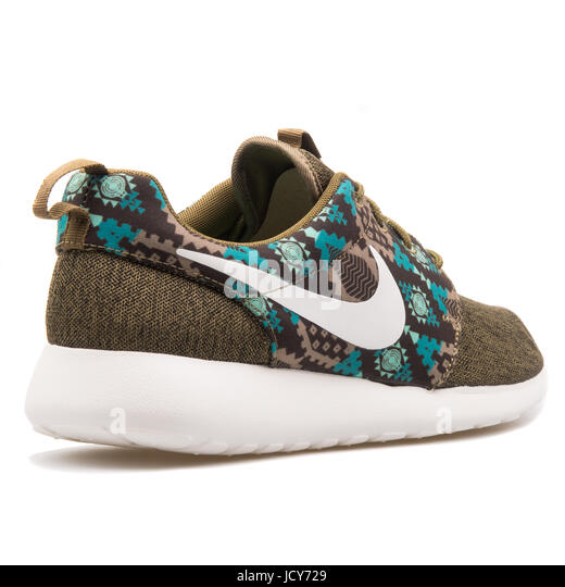 a04083142eb8 ... promo code for nike roshe one print dark bamboo mens sports shoes  655206 213 stock image ...