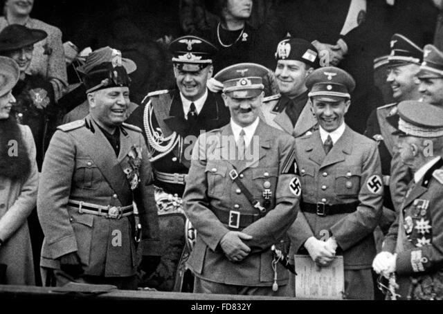 benito mussolini and adolf hitler This article seeks to explore two such persons adolf hitler and benito mussolini these two characters are world famous a single utterance of their names would evoke thousands of memories combined with mostly negative emotions such as fear, terror, antipathy, etc,.