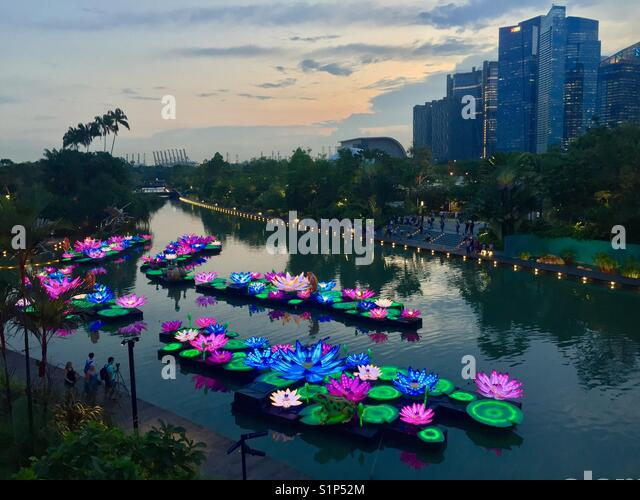 Mid autumn festival and singapore stock photos mid autumn festival and singapore stock images - Garden by the bay festival ...