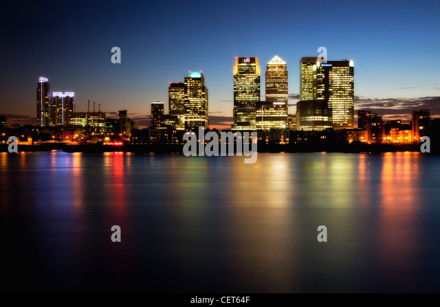 Canary wharf pictures night dress