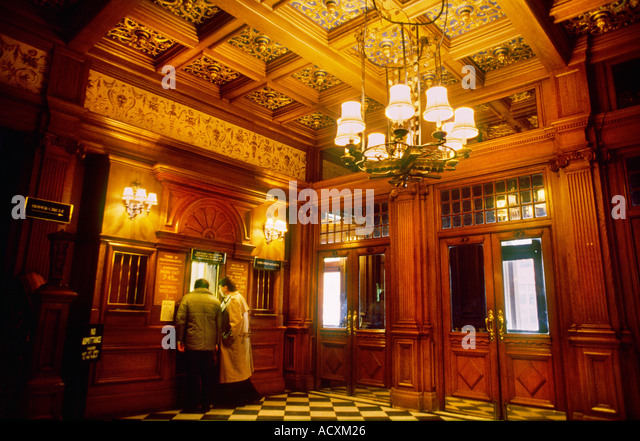 Western Foyer Box Office Opera House : Her majesty theatre stock photos